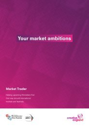 Your market ambitions