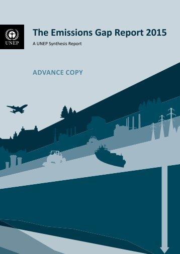 The Emissions Gap Report 2015