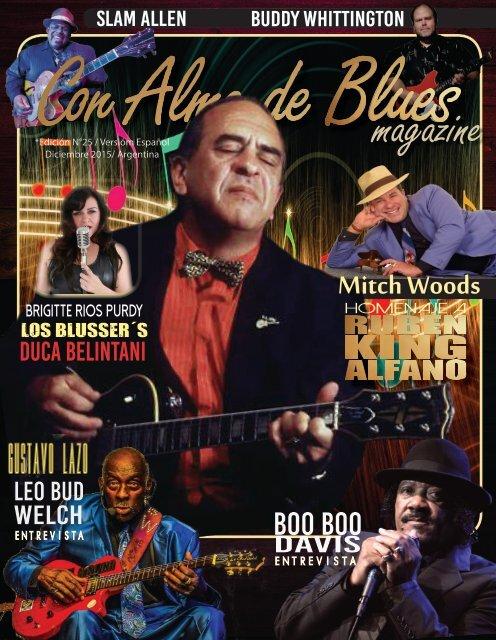 Magazine Con Alma de Blues 25 Español