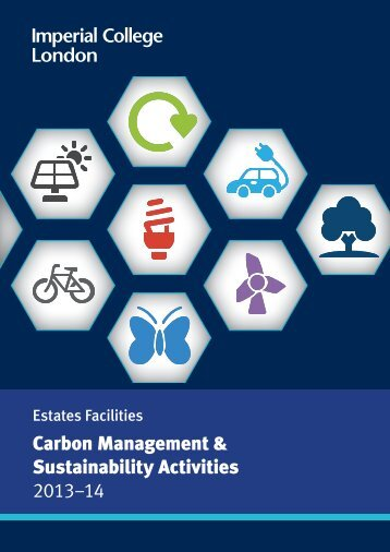 Carbon Management & Sustainability Activities 2013–14