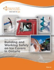 on Ice Covers in Ontario