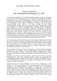 Der Luftangriff auf Hamburg 25.7.1943