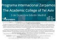 Convocatoria Zarpamos-Madrid 3Dic