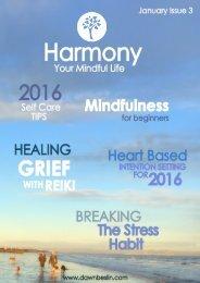 Harmony issue 3 - January 2016