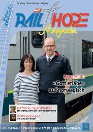 RailHope Magazin 03/2015