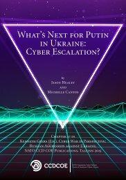 What's Next for Putin in Ukraine Cyber Escalation?