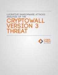 CryptoWall Version 3 Threat