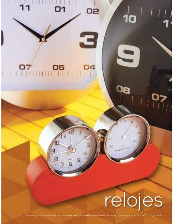 Catalogo Relojes