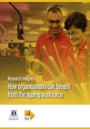 How organisations can benefit from the ageing workforce