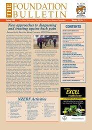 NZERF Bulletin Spring 2015