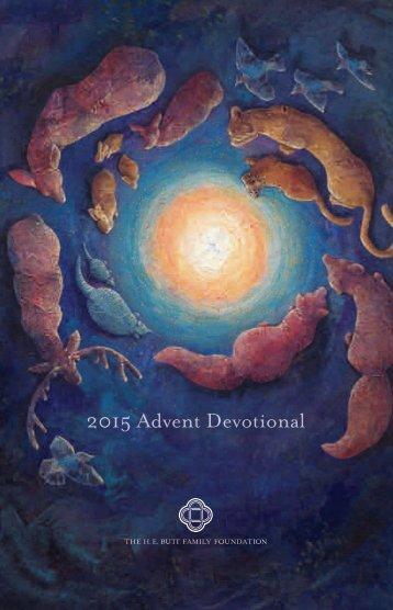 2015 Advent Devotional