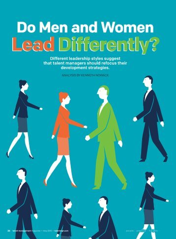 Lead Differently?