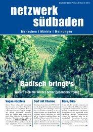 Netzwerk Südbaden - Dezember 2015