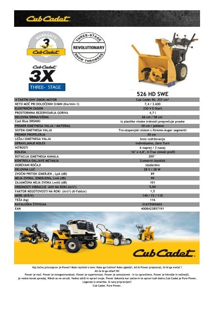Cub Cadet 526 HD SWE.PDF