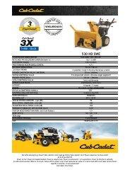 Cub Cadet 530 HD SWE.PDF