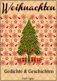 Weihnachten – Gedichte und Geschichten