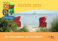 Urlaubsmagazin Ostsee Schönhagen 2016