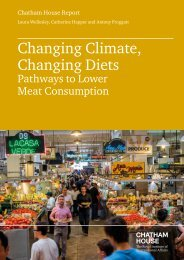 Changing Climate Changing Diets