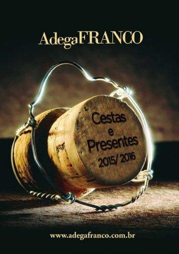 Catálogo 2015-2016 - Adega Franco