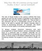 Why Does The US Continue Giving Saudi Arabia A Pass - Gerard Santinelli - Page 3