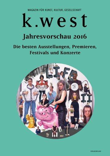 Jahresvorschau 2016
