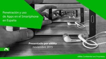 Penetración y uso de Apps en el Smartphone en España