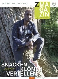 zett-Magazin August / September