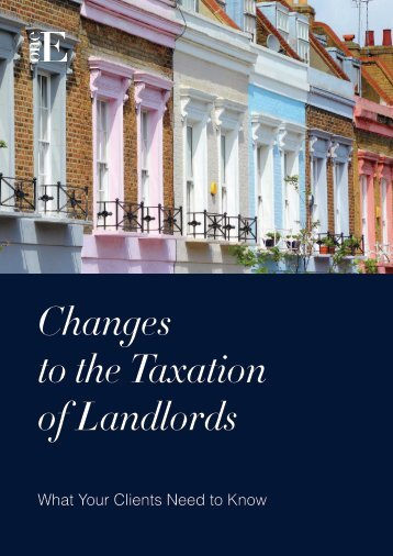 Change to taxation of Landlords
