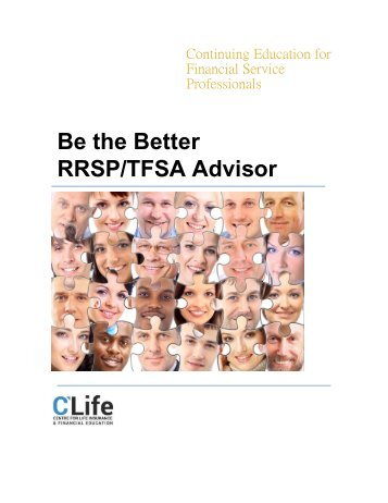 Be the Better RRSP/TFSA Advisor
