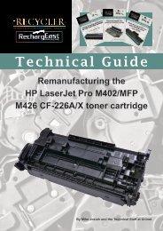 TG - HP LaserJet Pro M402:MFP M426 CF-226A:X toner cartridge