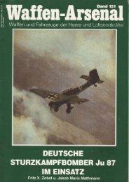 DEUTSCHE STURZKAMPFBOMBER Ju 87 IM EINSATZ