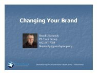 Changing Your Brand