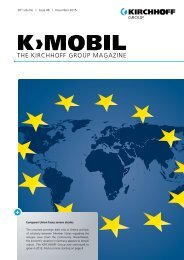 THE KIRCHHOFF GROUP MAGAZINE