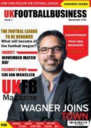 UK Football Business magazine issue 1