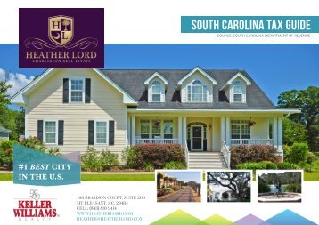 SOUTH CAROLINA TAX GUIDE