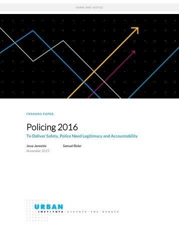 Policing 2016