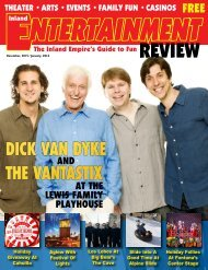 Inland Entertainment Review Magazine, Dec. 2015 / Jan. 2016