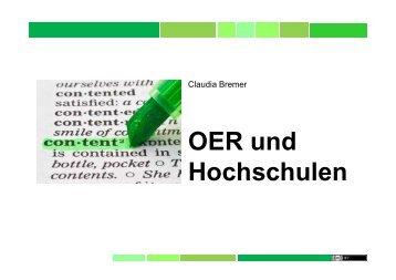 OER und Hochschulen
