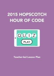 2015 HOPSCOTCH HOUR OF CODE