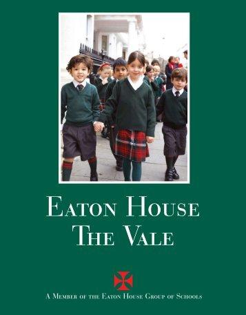 school prospectus - EATON HOUSE SCHOOLS