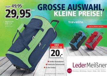 Travelite Preisfeuerwerk Prospekt mit Logo 01.12.2015