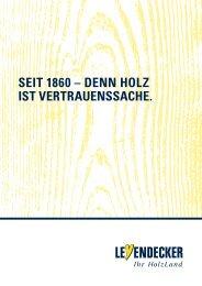 Leyendecker Imagebrochüre