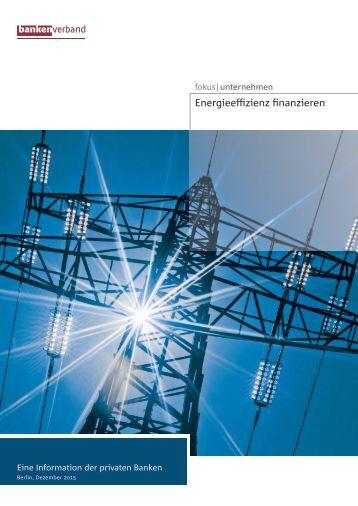 Energieeffizienz finanzieren