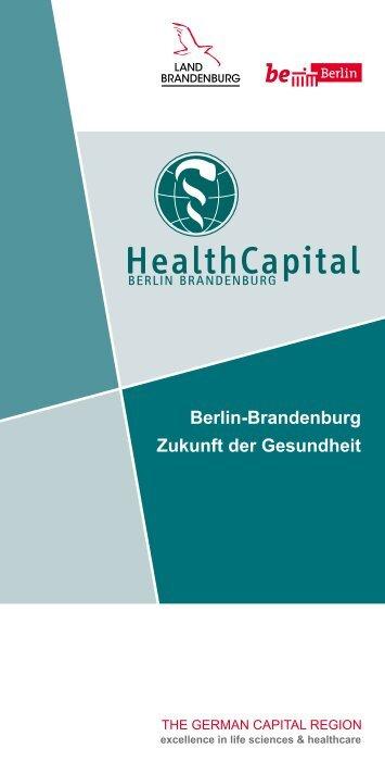 Clusterbroschuere Gesundheitswirtschaft