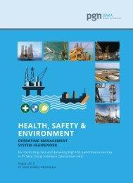 HSE Operating Mgt System Framework -printed