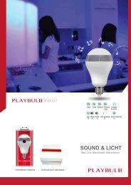 MiPow Playbulb Colour Smart Home LED