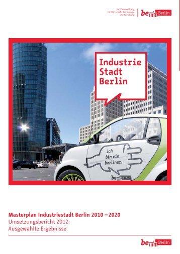 Masterplan Industriestadt Berlin 2010 – 2020