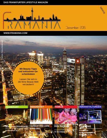 Framania Magazin Ausgabe Dezember  2015