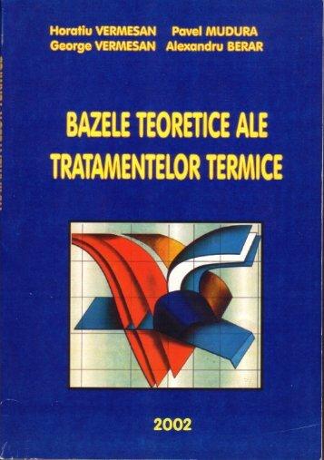 Bazele Teoretice ale Tratamentelor Termice