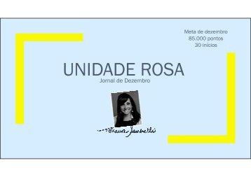 Jornal Unidade Rosa - dezembro 2015